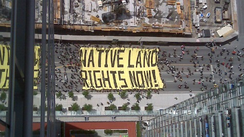 Native land rights now Surrounded Part 1 of 6: G20 before cop cars burned and memories of Grassy Narrows